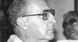 Héctor Abad Gómez, presidente del comité de Derechos Humanos. Archivo Fotográfico CIP